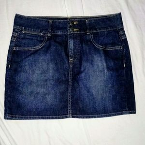 Old Navy jean skirt 12